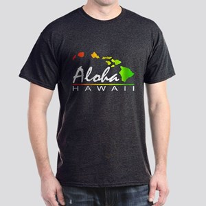 ALOHA Hawaii (Distressed Design) T-Shirt
